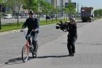 Фоторепортаж: «Участковые в Купчино пересели на велосипеды»