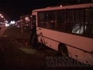 Подробности ночного ДТП с маршруткой на Богатырском проспекте: Фоторепортаж