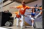 Алексей Ягудин провел с горожанами зарядку: Фоторепортаж