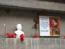 В Петербурге появился бюст Сталина: Фоторепортаж
