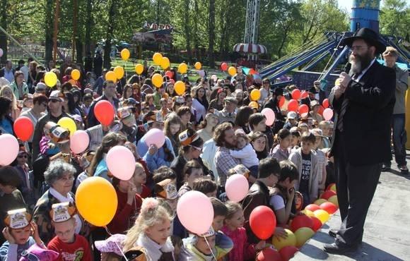 Еврейская община Петербурга отмечала праздник любви к ближнему: Фото