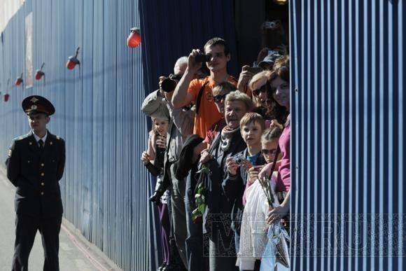 По Невскому проспекту прошли ветераны (фото): Фото