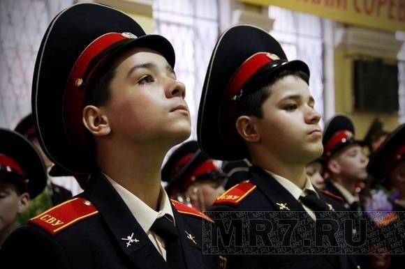 Последний звонок прозвучал для 66 петербургских суворовцев: Фото