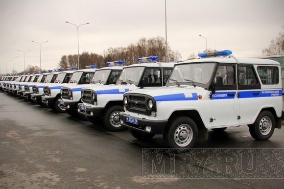 В городе появились первые машины с надписью «полиция»: Фото