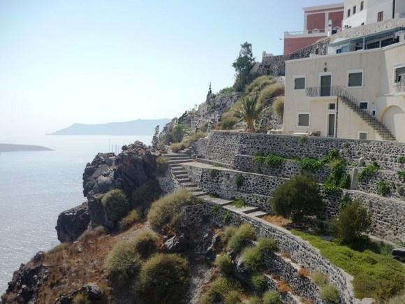 Мое лучшее фото из Греции: как на вулкане: Фото