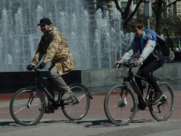 По Петербургу промчался «Русский велокросс»: Фото
