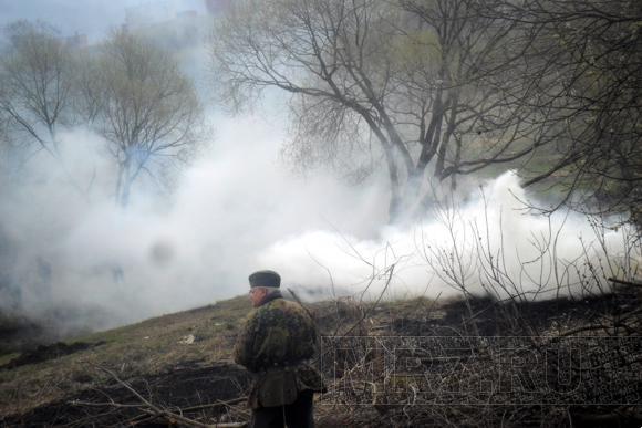 Полежаевский парк сыграл роль Зееловских высот: Фото