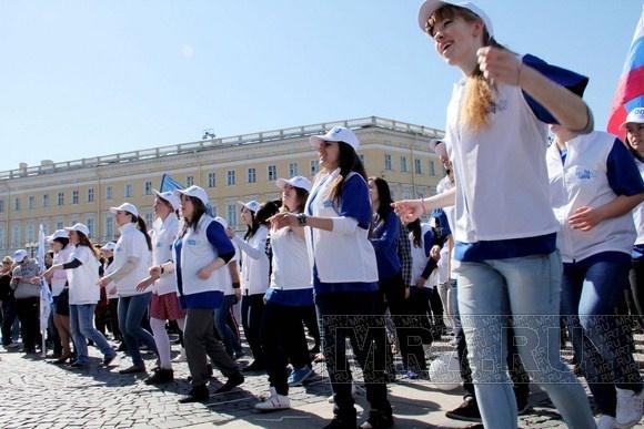 В Петербурге прошла «Звездная эстафета»: Фото
