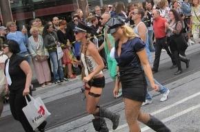 Восстание геев в Москве закончилось задержаниями
