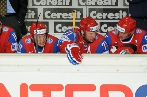 Россия проиграла Дании только первый период