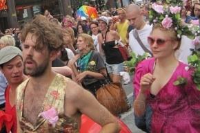 Гей-парад в Москве: 34 человека задержаны