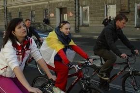 По Петербургу промчался «Русский велокросс»