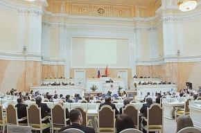 В петербургском ЗакСе решается вопрос об отставке Сергея Миронова