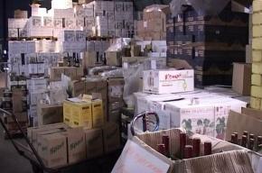 В Купчино закрыт склад, оптом торговавший нелегальным алкоголем