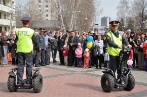 Полицейские в Набережных Челнах будут ездить на сегвеях