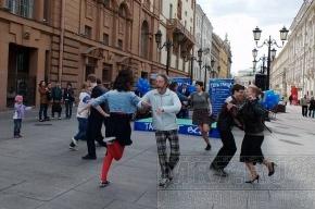 На Малой Садовой танцевали все и даже молодые папы