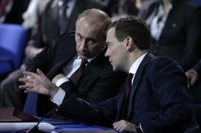 Медведев не сказал прямо о поддержке «Народного фронта»