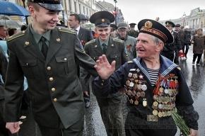 В праздничной колонне по Невскому проспекту пойдут ветераны из 21 страны мира