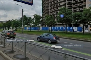 На Ленинском проспекте иномарка сбила мужчину