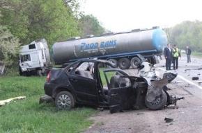 В ДТП на Украине погибли 4 подростка и водитель