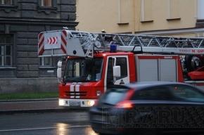 На Гагарина выгорел 8-метровый балкон
