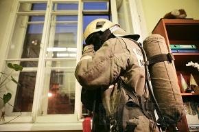 Пожилая петербурженка пострадала при пожаре на Ленинском проспекте