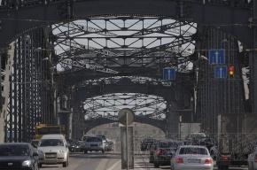 Разводка Большеохтинского моста пройдет по измененному графику