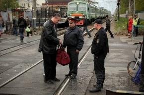 Полицейские будут штрафовать в электричках