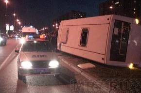 Подробности ночного ДТП с маршруткой на Богатырском проспекте