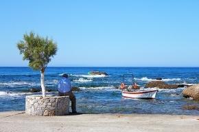Мое лучшее фото из Греции: рыбак из Плакиаса