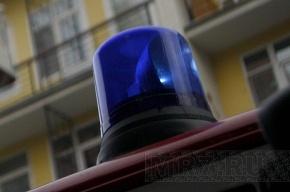 В Петербурге тушили серьезный пожар
