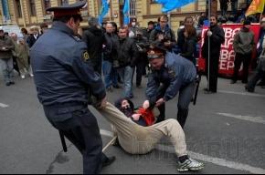 Задержание активистов ДСПА и анархистов у БКЗ (фоторепортаж)