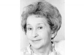 Скончалась петербургская актриса Инна Слободская