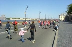 Петербург только для роллеров! Только 21 мая
