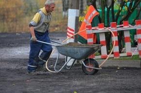 На Большой Пушкарской текущий ремонт