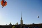 Фоторепортаж: «Над Петропавловкой взмыли аэростаты (фото)»