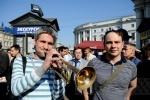 «Стратегия-31»: Более 100 задержанных в Москве и Петербурге: Фоторепортаж