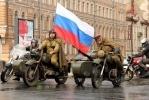 Русские и немецкие байкеры вновь зажгли «Свечу памяти»: Фоторепортаж