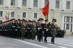Фоторепортаж: «На Дворцовой площади состоялся массовый выпуск суворовцев, нахимовцев и кадетов»