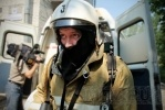 В поликлинике на улице Орджоникидзе тренировались пожарные: Фоторепортаж