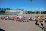 На Крестовском прошел массовый велопробег «Новая высота» (фото): Фоторепортаж