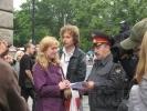 Главу Госстройнадзора Петербурга наградили кирпичом: Фоторепортаж
