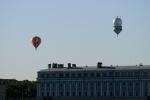 Над Петропавловкой взмыли аэростаты (фото): Фоторепортаж