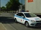 Фоторепортаж: «На Выборгском шоссе транспортный коллапс»