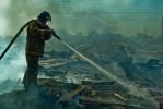 На Парнасе горел хлам: Фоторепортаж