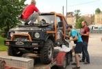 Фоторепортаж: «Участники трофи-рейда «Ладога» готовятся к старту»