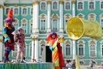 Дворцовая площадь превратилась в большую песочницу: Фоторепортаж