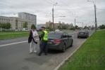 Во Фрунзенском районе ловили водителей с тонированными стеклами: Фоторепортаж