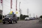 Трезвые водители провели автопробег: Фоторепортаж