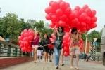 Над Петербургом пролетело «окно в Европу» из 800 воздушных шаров: Фоторепортаж